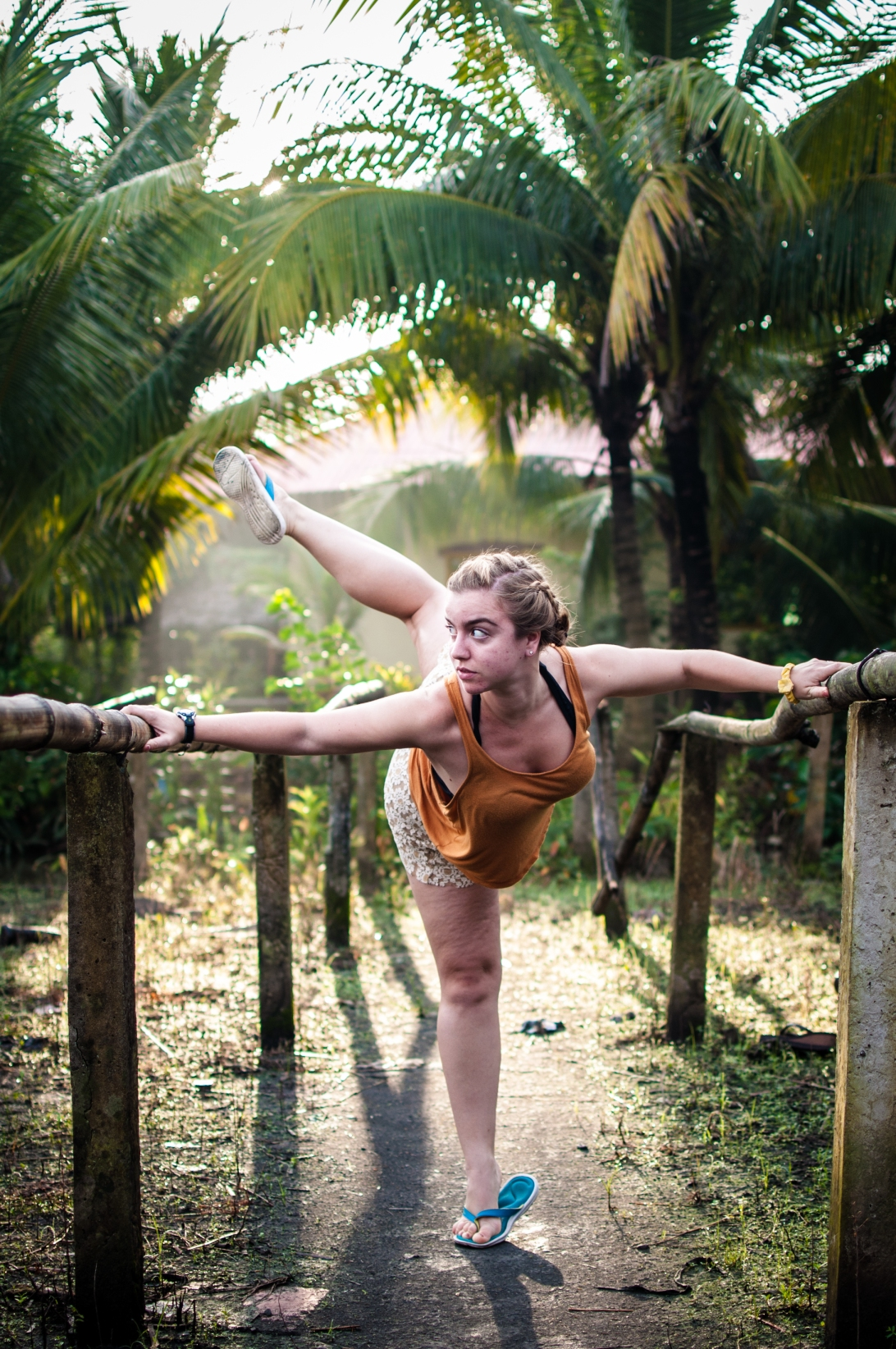 Natural Ballet Bars
